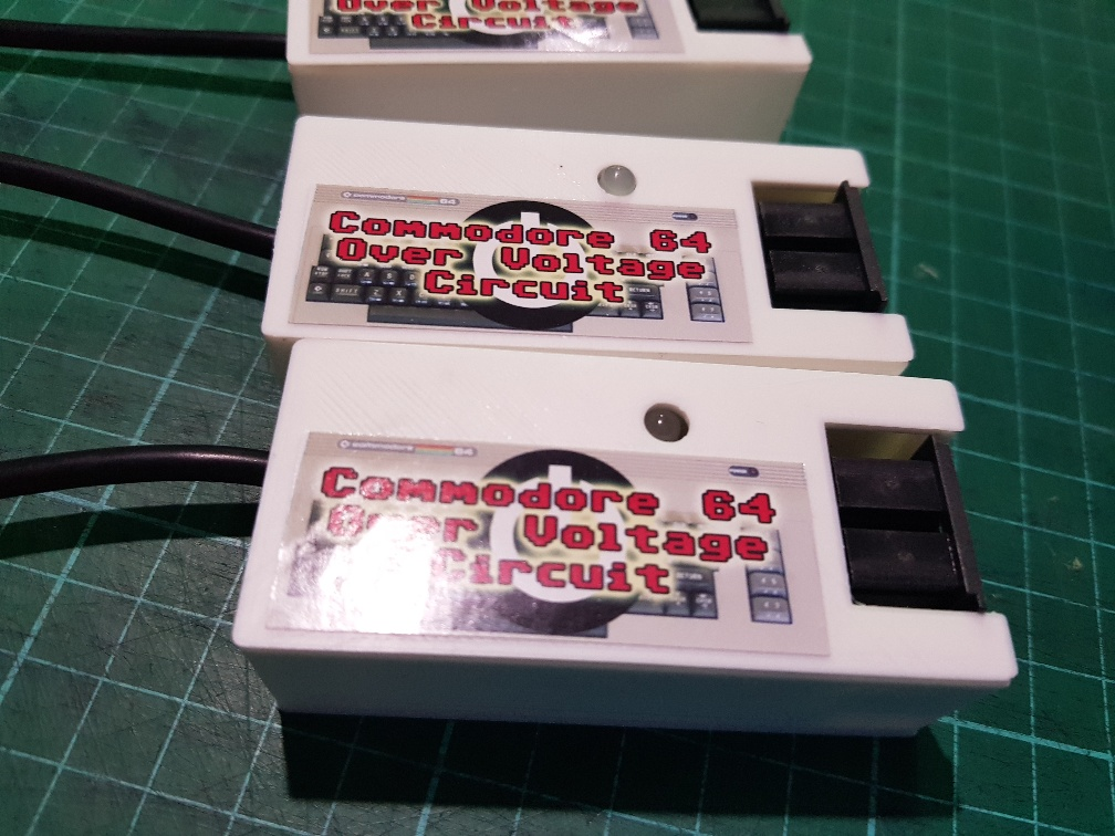 Power Saver Commodore 64 Over Voltage protection circuit
