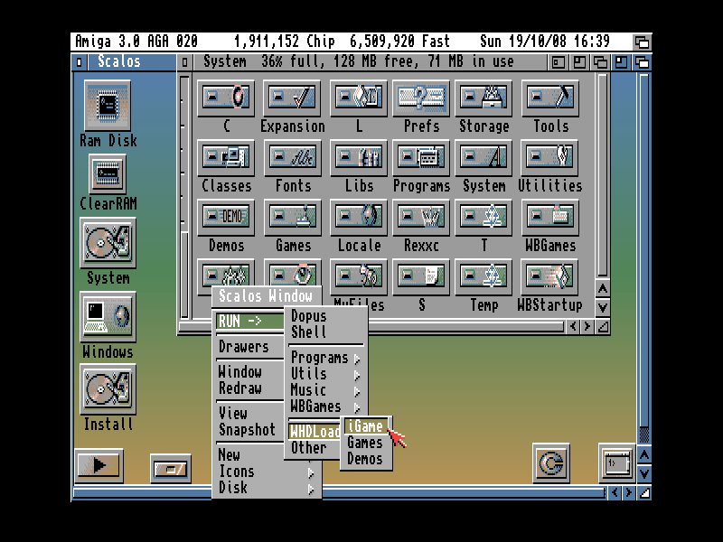 Amiga HD installateurs à Chicago