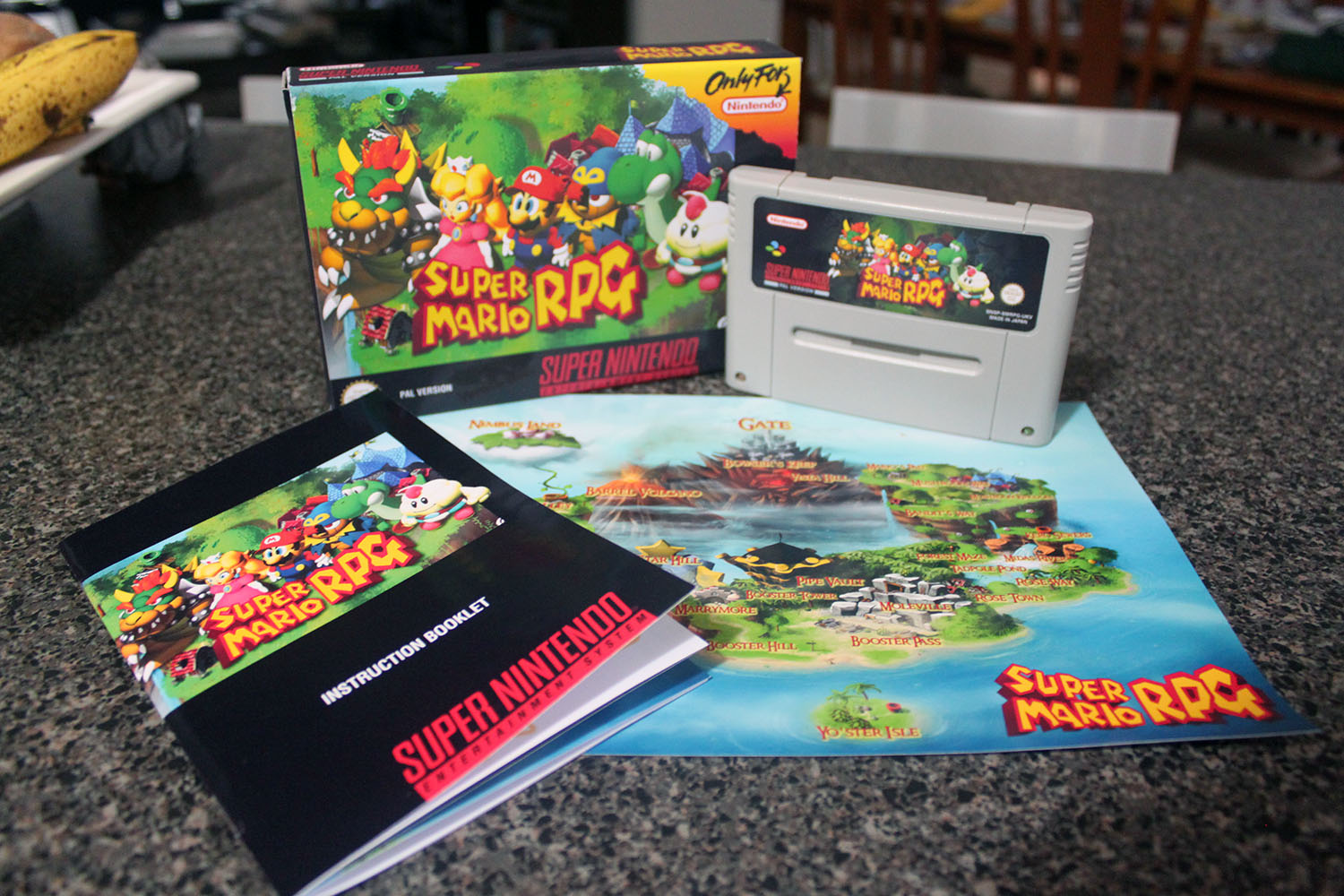 Super Mario RPG PAL  - Complete
