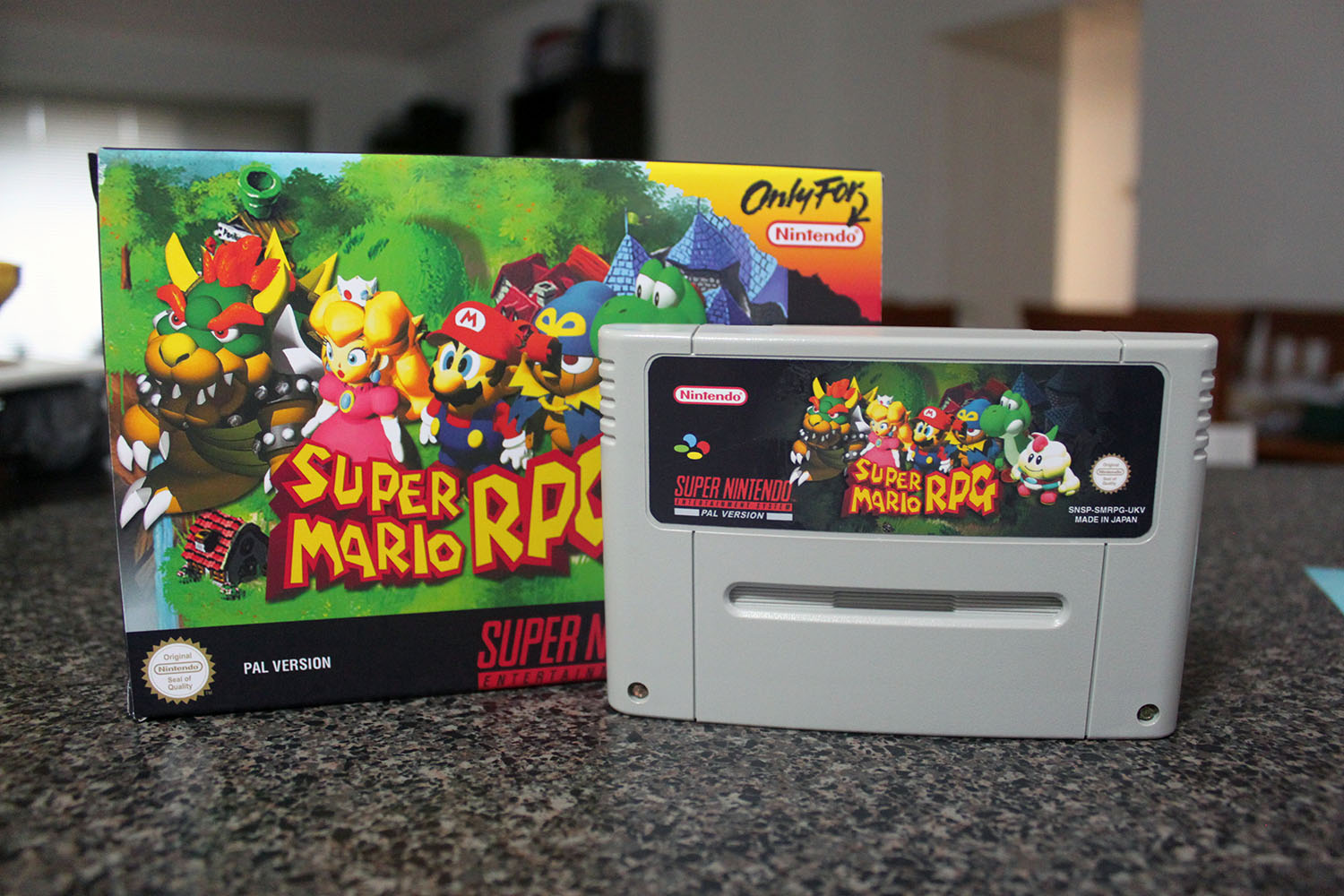 super mario rpg pal complete melbourne console reproductions