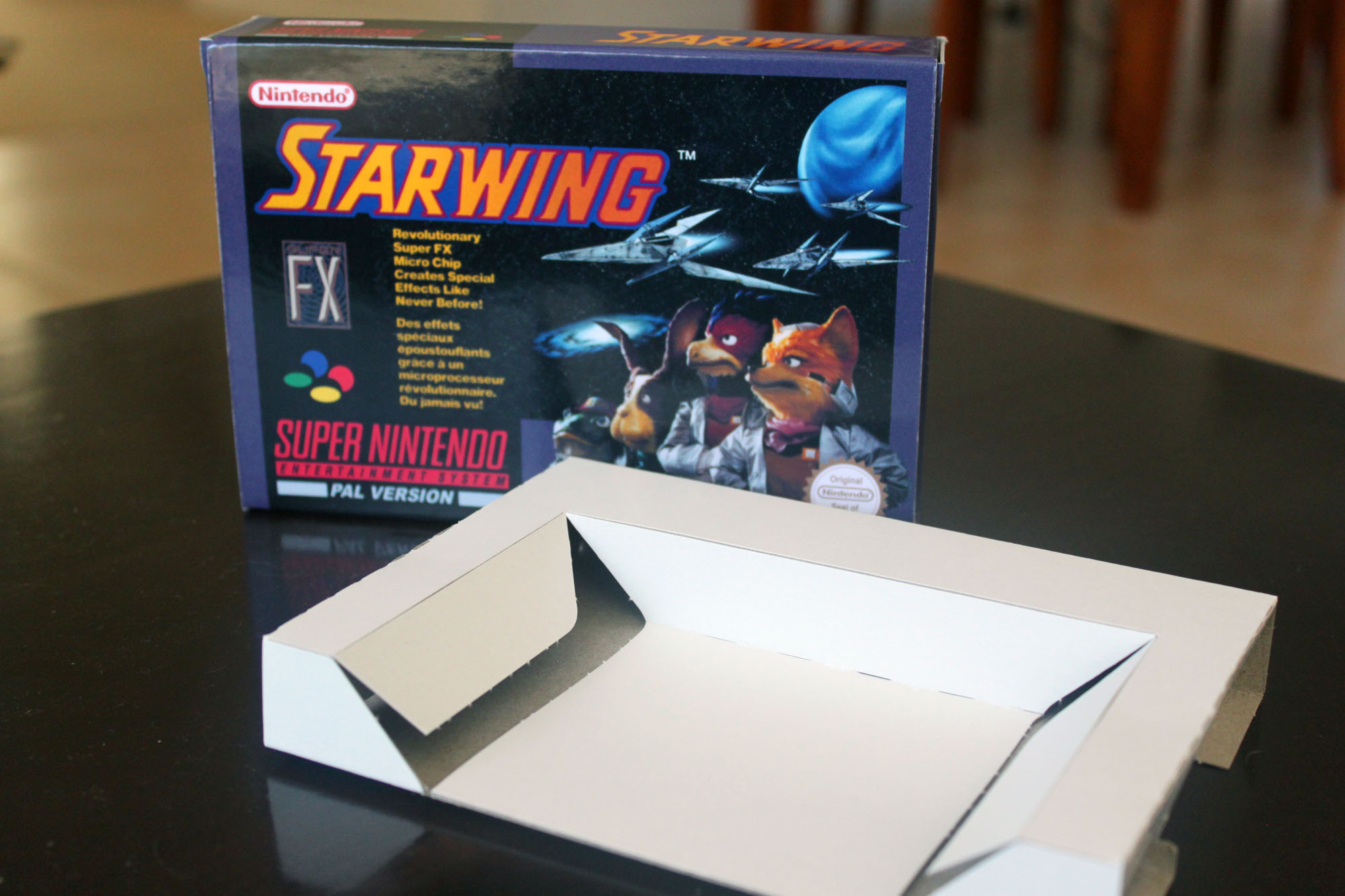 Star Wing  Box and cart insert only