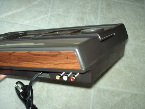 Intellivision composite AV modification