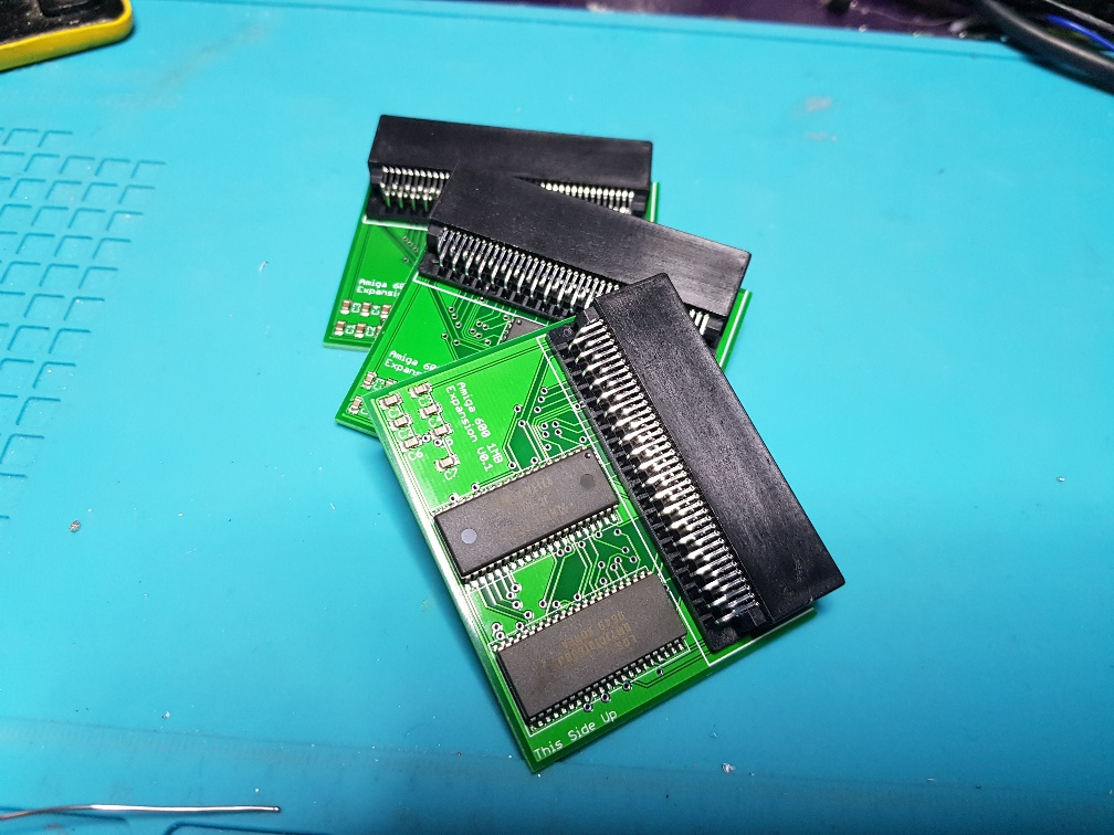 Commodore Amiga 600 1Mb Trapdoor CHIP memory expansion